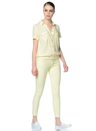 Fabrika Pantolon Sarı